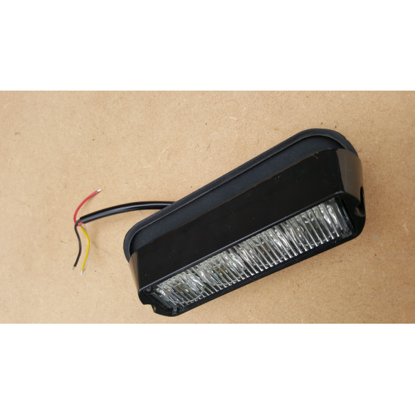 Amber strobe grille led warning light tractor 4x4 recovery
