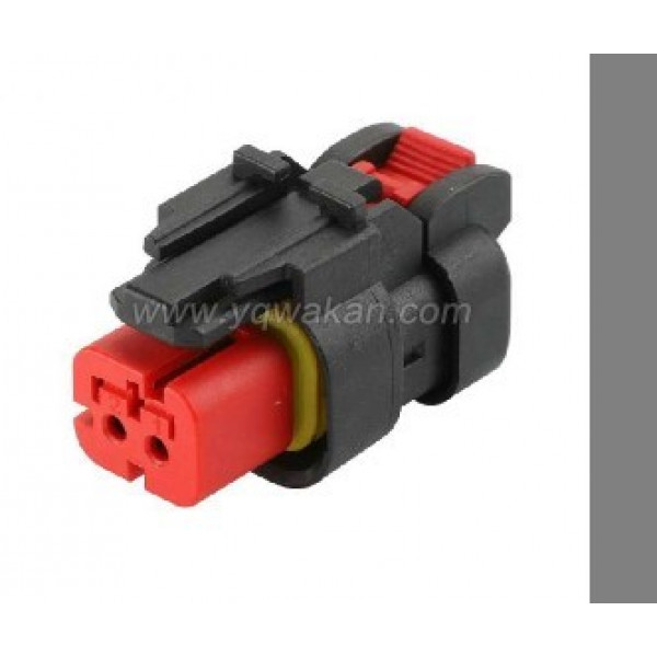 Deutsch DT 2 pin male connector to M/F female suit 66/77 series front arm lights some Valtra S