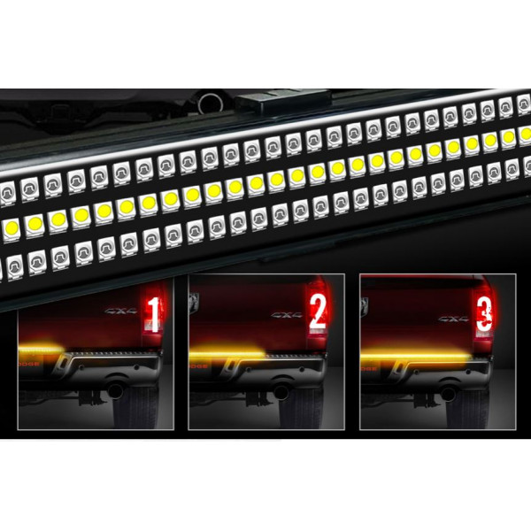 5ft/1500mm - 4 in 1 led tailgate strip light suit pickup or trailer 1500mm long