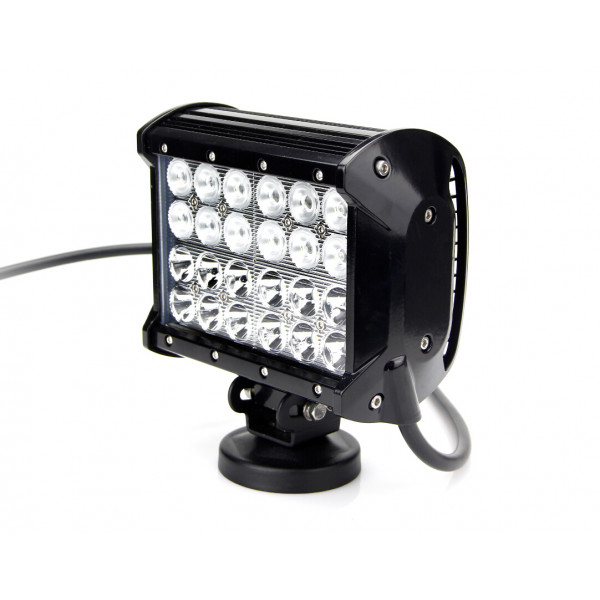 72 watt 4 Row CREE LED Worklight sprayer excavator telehandler harvester.