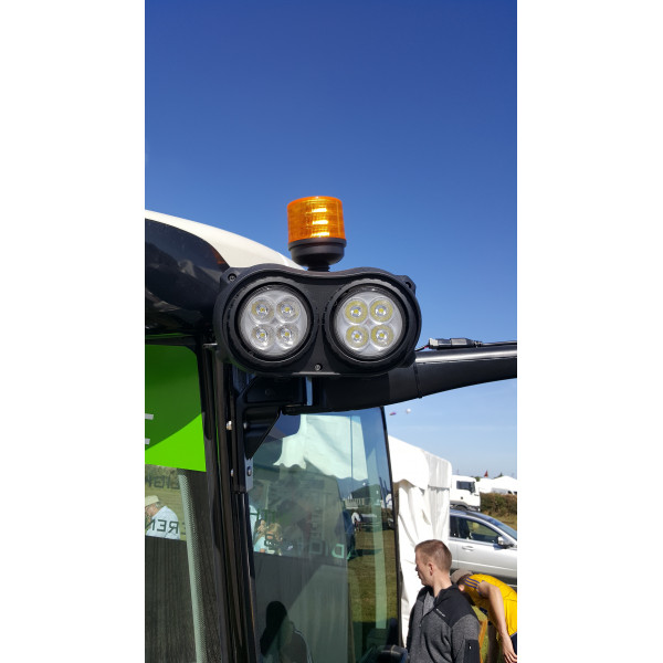 40 watt Fendt tractor led cab or bonnet front led work light upgrade kit