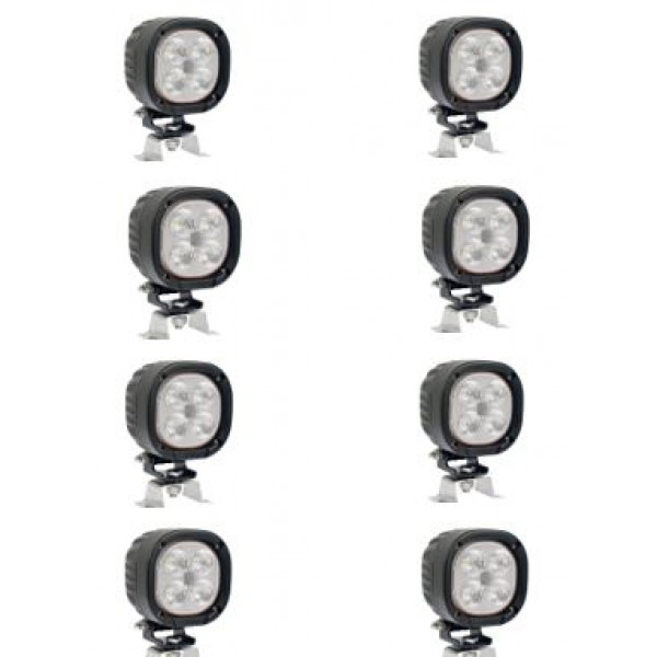 DISCOUNTED - Fendt tractor full set of 8 led work light FREE SHIPPING