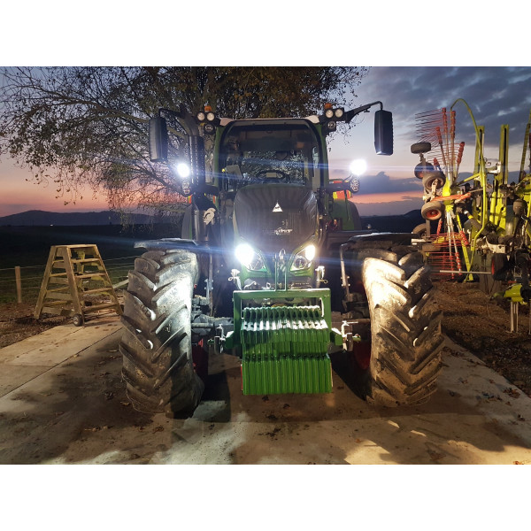 60 watt tractor fendt led work plough light lamp excavator digger sprayer