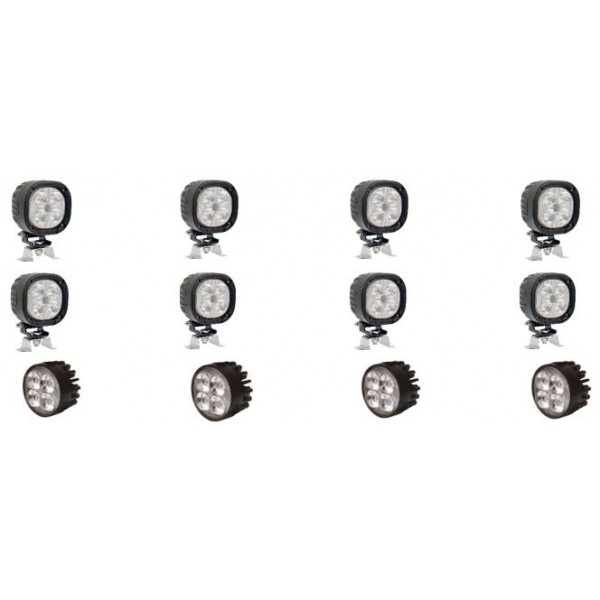 DISCOUNTED Full Set of FENDT tractor-led-light-upgrade-kit  FREE SHIPPING