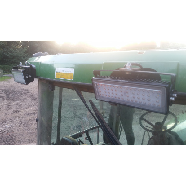 70 watt 140 degree beam angle led light lamp tractor digger hedgecutter sprayer