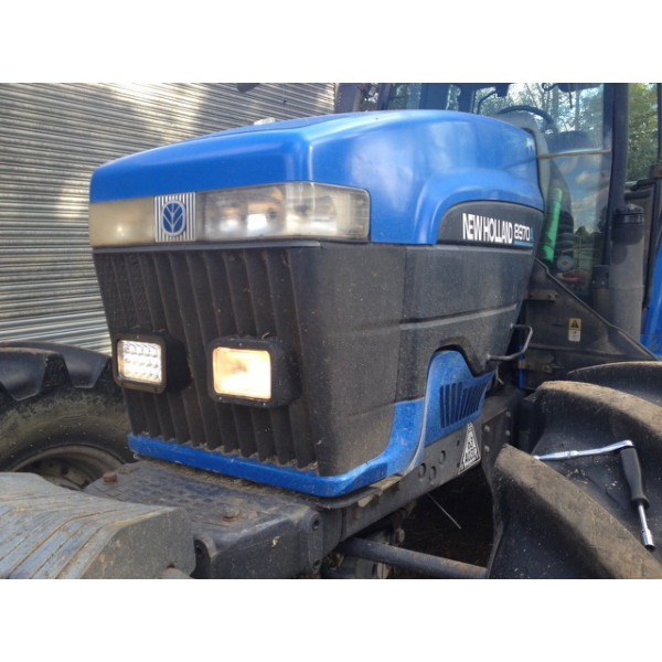 LED Headlight suit almost all tractors, diggers and machines with rectangular headlights road legal RHD