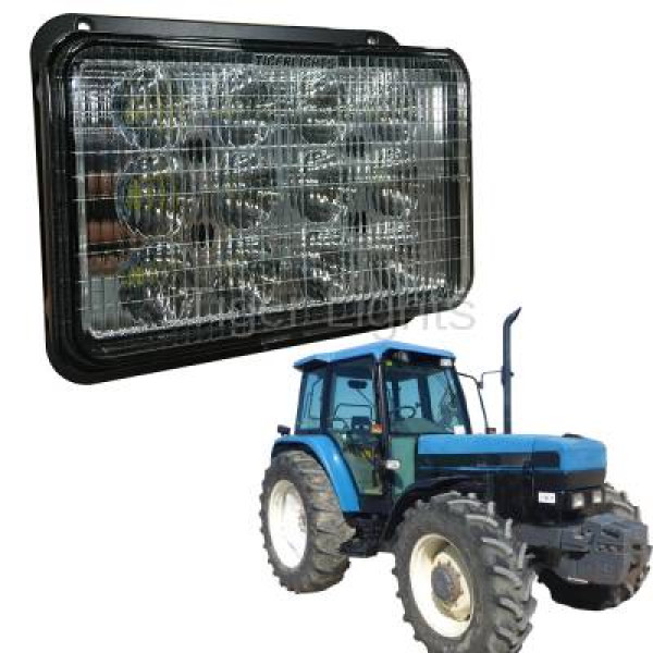 60watt led head light suit new holland tm series tractor