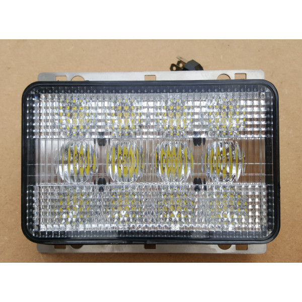 60 watt led headlight high low beam tractor digger forklift combine valtra renault massey