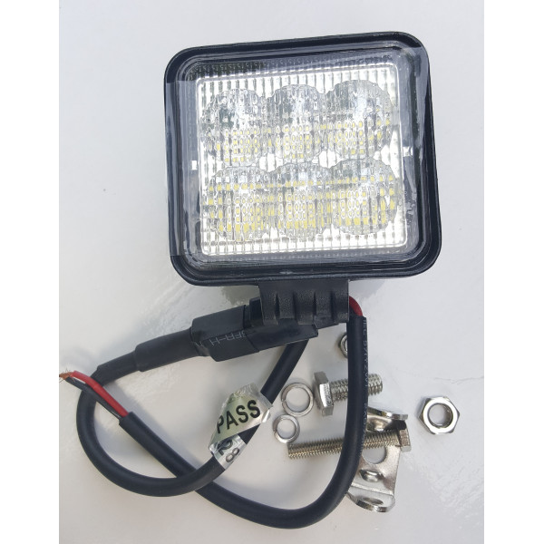 18W LED reversing work close proximity light lamp tractor loadall telehandler