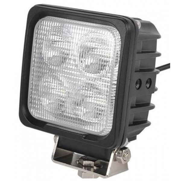 40 watt square led work light tractor digger fendt valtra quality lamp