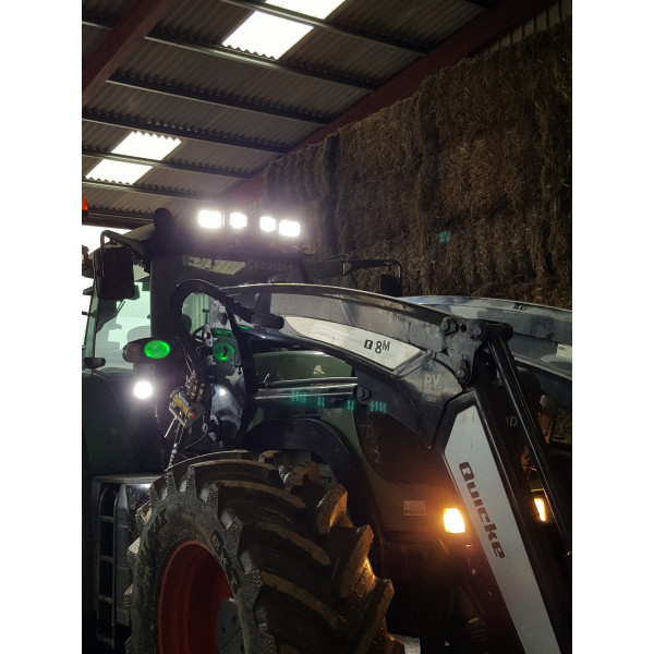 40w Fendt tractor high low beam cab led lights MF Merlo Claas Valmet Zetor Case jcb-Deutz Agrotron