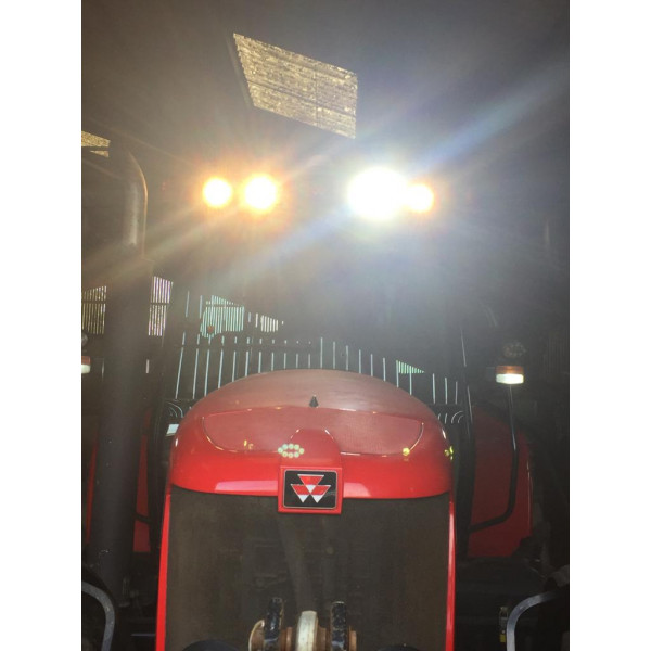 40w tractor led work lights top cab massey ferguson 5400 6400 7400 8400 series