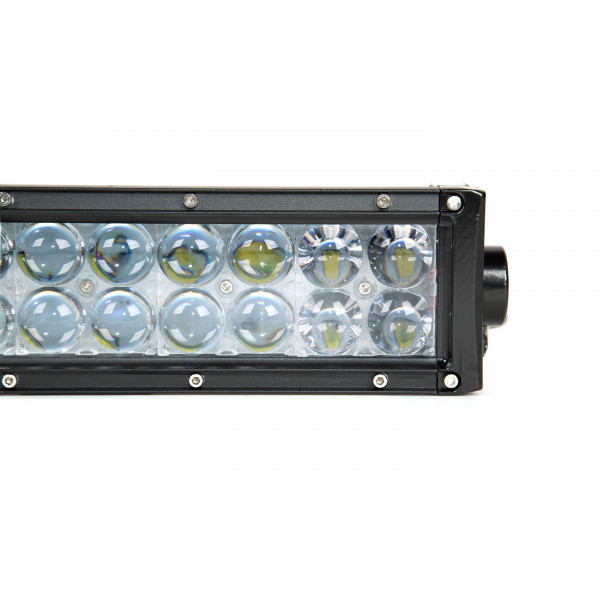 288 Watt Curved 4D Twin Row Led Lightbar lamp tractor discovery