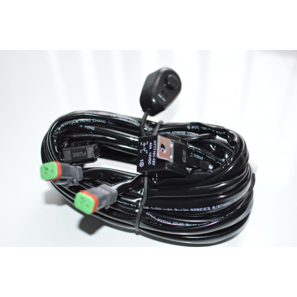 Premade led wiring loom kit - double DT outlet suit crop sprayer