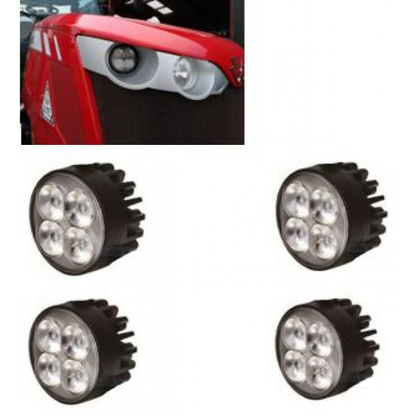 DISCOUNTED KIT-Massey Ferguson 66/77 tractor-front-bonnet-led-light  FREE SHIPPING