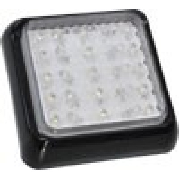 Square WHITE led light suitable reverse, interior, under guard panel light