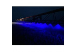 Blue led light makes green crops grow